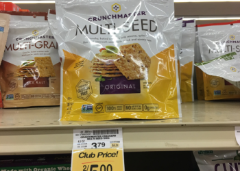 Crunchmaster Crackers for $1.50 After Coupon & Sale (Gluten-Free)