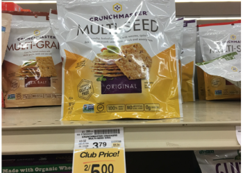 New Crunchmaster Crackers Coupon – Pay just $1.50 a bag at Safeway