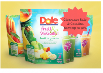 Dole Frozen Fruit Clearance Sale, Coupons and Catalina