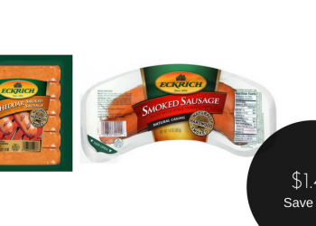 Eckrich Dinner Sausage for $1.49 After Couponing (Save 63%)