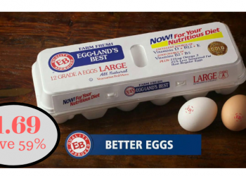 Eggland's Best Eggs Just $1.69 at Safeway – Save 59%