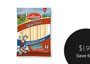 Galbani String Cheese for $1.99 (Save 67%)