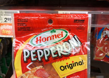 Hormel Pepperoni Coupon – Pay just $2.50 at Safeway