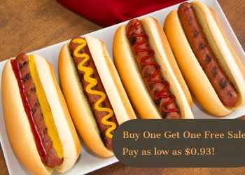 HOT Buy One Get One Free Hot Dog Sale at Safeway!