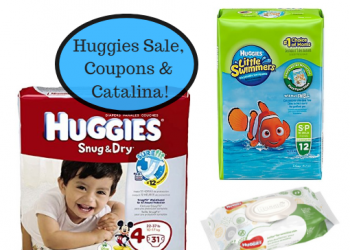 Huggies Snug & Dry Diapers and Little Swimmers as Low as $4.99 Plus Catalina Offer