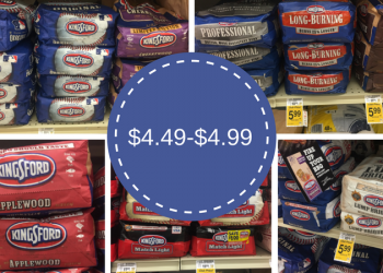 Kingsford Charcoal – Pay as Low as $4.49 (Save up to $7.50)