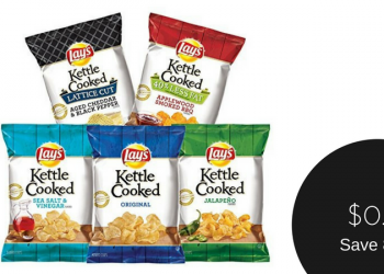 Lay's Chips Deals – as Low as $0.61 for Kettle Cooked or $1.36 for Family Size