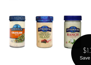 Litehouse Dressing for as Low as $1.75 (Save 56%)