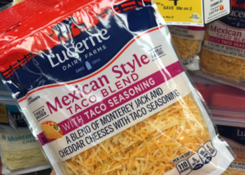 Lucerne Shredded Cheese for as Low as $1.42