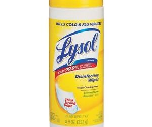 FREE Lysol Wipes & $0.49 Toilet Bowl Cleaner at Safeway