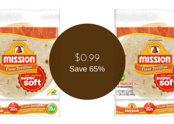 Mission Tortillas on Sale for $0.99 (Save 65%)