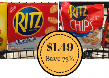 Select Nabisco Crackers Only $1.49 at Safeway – Save 73%