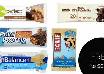 Nutrition Bars on Sale – FREE ThinkThin AND ZonePerfect Bars