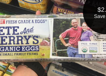 Pete & Gerry's Organic Eggs for $2.49 (Save up to $4.00)