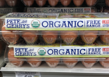 Pete & Gerry's Organic Eggs Dozen Just $2.49 at Safeway (Reg. $6.49)