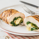Poblano and Pepper Jack Stuffed Chicken Breast