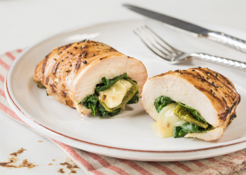 Cheesy Poblano Stuffed Chicken Breast