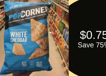 PopCorners Coupon, Pay $0.75 for Corn Chips