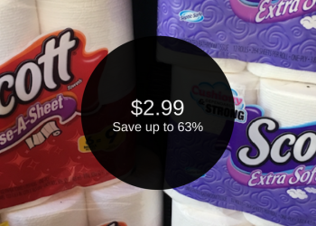Scott Coupons, Only $2.99 for Toilet Paper & Paper Towels