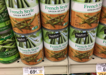 Signature SELECT Canned Vegetables for $0.33