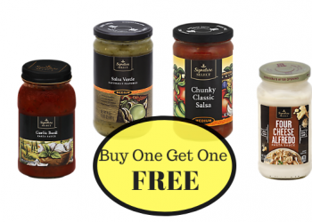 Signature SELECT Pasta Sauce & Salsa Buy One Get One Free at Safeway
