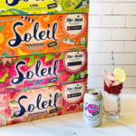 Soleil Sparkling Water Naturally Flavored Beverages – 4 New Flavors and Packaging
