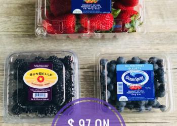 HOT Berries Sale at Safeway – Strawberries, Blackberries and Blueberries Just 97¢
