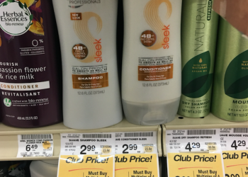Suave Professionals Shampoo & Conditioner Sale and Coupon Deals – As Low As $0.49