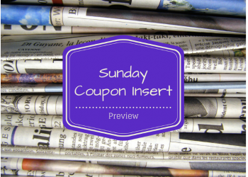 Sunday Coupon Preview 5/13 – 2 Inserts