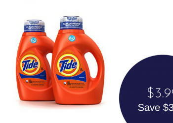 Tide Coupon & Sale – Pay $3.99 at Safeway