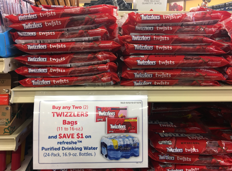 Twizzlers and refreshe promo