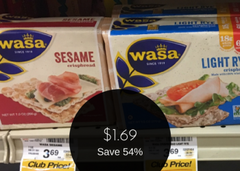 Wasa Crispbread Deal – Pay as Low as $1.69 (Save 54%)
