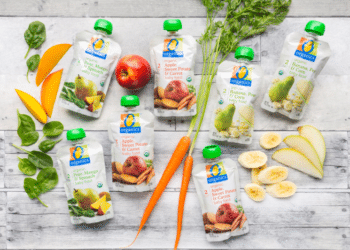 O Organics Baby Food Pouches Just $.64 Each at Safeway