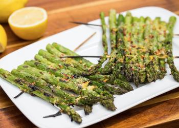 Zesty Grilled Asparagus