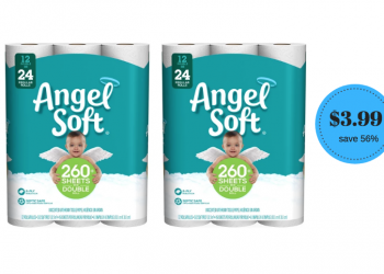 Angel Soft Bath Tissue Just $3.99 at Safeway (Save 56%)