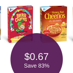 *HOT* General Mills Cereals for as Low as $0.67