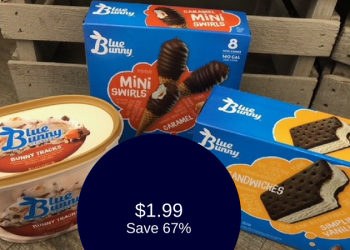 Blue Bunny Coupon & Sale, Only $1.99 for Ice Cream