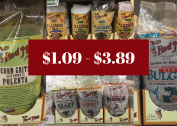 Bob's Red Mill Coupon & Sale – Pay as Low as $1.09