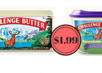 HOT Challenge Butter Only $1.99 at Safeway – Save up to 62%