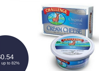 Challenge Cream Cheese Coupon Deal – Pay as Low as $0.54