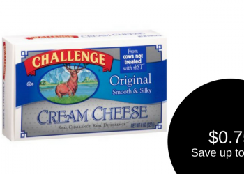 Challenge Cream Cheese for as Low as $0.75