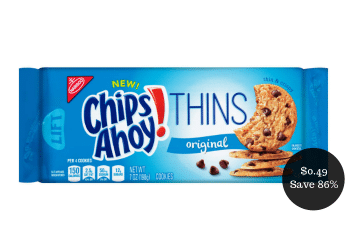 *HOT* Chips Ahoy Cookies as Low as $0.49 (Save up to 86% at Safeway)