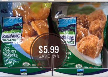 Coastal Range Organics Frozen Chicken Only $5.99 (Reg. $8.99)