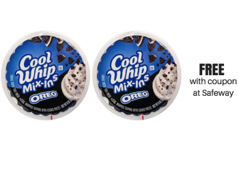 FREE Cool Whip Mix-Ins at Safeway