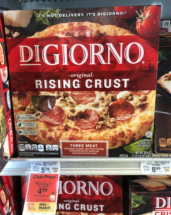 picture about Digiorno Coupons Printable referred to as DiGiorno Pizza Specifically $2.99 at Safeway (Reg. $5.79) - Tremendous