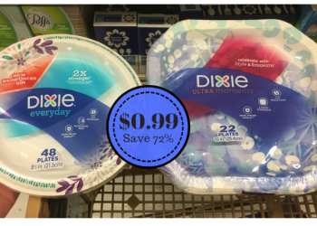 Dixie Paper Plates Just $0.99 at Safeway – Save 72%
