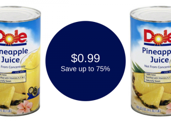 Dole Pineapple Juice for as Low as $0.99 (Save up to 75%)