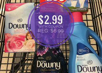 Bounce or Downy Dryer Sheets or Downy Fabric Softener Just $2.99 (Reg. $6.99)