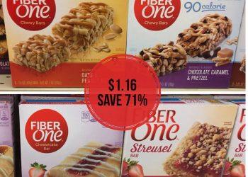 Fiber One Bars Just $1.16 at Safeway – Save 71%