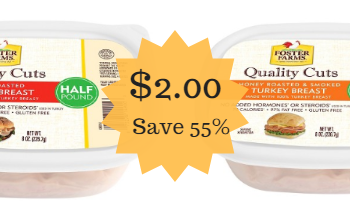 Foster Farms Quality Cuts Lunchmeat Only $2.00 (Save 55%) – Ends 6/12